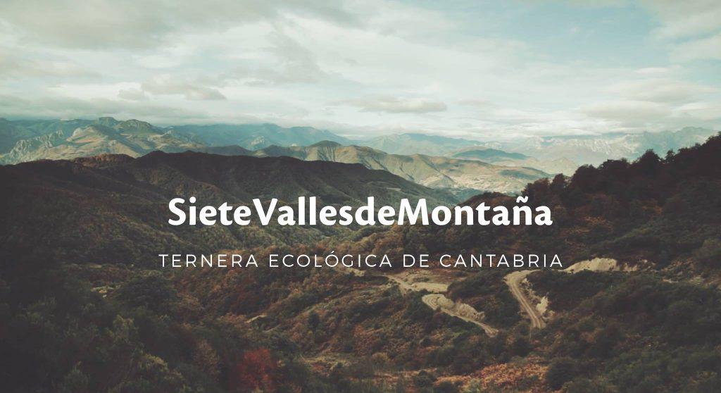 Siete Valles de Montaña, ternera ecológica de Cantabria